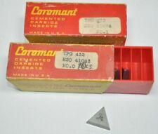 Lot Of 19 Sandvik Coromant Tpg432 H20 Carbide Turning Inserts