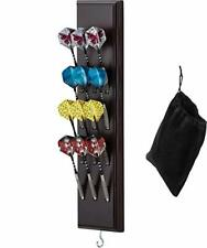 Viper Dart Caddy Solid Wood Wall Mounted Dart Holder / Stand, Displays 4 Sets...