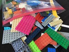 Bulk LEGO PLATE LOT! 1/2 LB of Mixed Lego Plates