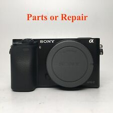 Sony Alpha A6000 24.3MP Digital Camera - Black (Body Only) Parts or Repair