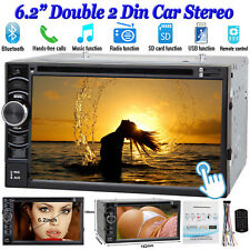For VW Golf MK5 MK6 Jetta Passat Car Stereo Radio CD DVD Player Bluetooth 2 DIN