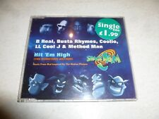 Hit 'Em High [The Monstars' Anthem] 1996 German-manufactured 4-track CD single
