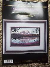 Classic Cross Stitch Kit 'Mountain View ' opened but complete in package