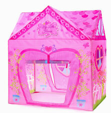 Kids Tent Princess Pink Flower Play Tent for Indoor and Outdoor Fun