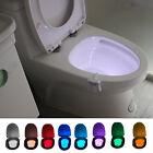LED Toilettendeckel WC Sitz Klobrille Nachtlicht Klodeckel Disco Licht 8 Farben