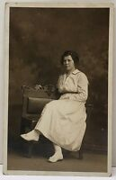 Allentown Pa RPPC Lovely Girl by Wint Studios Wetzel of Alburtis Pa Postcard D12