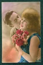 REAL IMAGE POSTCARD MAN AND WOMAN ROMANCE