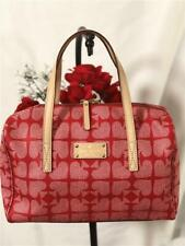 Kate Spade New York Kaleigh Red Pebbled Ace of Spades Carry-on Handbag