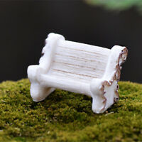 Mini Fairy Dollhouse Miniature Garden Furniture Chair DIY Home DecorBDAUFL