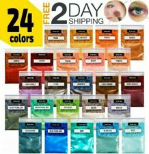 Epoxy Resin Dye, 24 Mica Powder Pigments Set, Hand Soap Making Supplies, Candles
