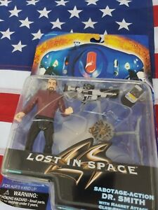 Lost In Space: Dr. Smith w/Sabotage Action and Claw Strike Speeder 1997