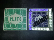 "Jeu vintage Toy "" PLATO "" - 3D Board GAME- The Rumbold Gallery - 1966"