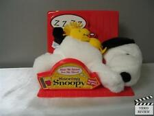 Snoring Snoopy Plush Toy Applause Peanuts Charlie Brown