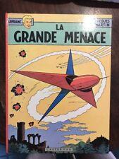 Bd Lefranc La Grande Menace DR Ed.1975 Casterman Jacques Martin Dessinateur Alix