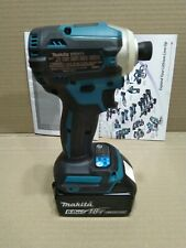 Makita DTD171Z 18V L-ion Cordless BL 4-Speed Impact Driver w 6.0Ah battery