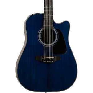 Takamine GD-30CE 12-String Acoustic-Electric Guitar Deep Blue