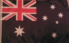 """18 x 12"""" POLYESTER AUSTRALIAN COUNTRY FLAG SLEEVED BOAT SCOOTER AERIAL AUSTRALIA"""