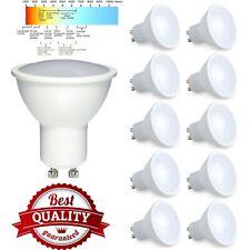 GU10 LED 7 Watt Spotlight Light Bulbs Lamp Cool White Daylight 6500K 600LM A+