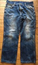 Wrangler Cotton Big & Tall Distressed Jeans for Men