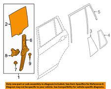 Bmw Oem 11-14 X3 Glass-Rear Door-Window-Moveable 51357382139