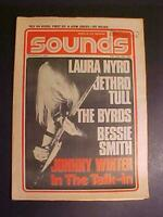 "OLD RARE VINTAGE ORIGINAL UK ""SOUNDS"" ROCK MUSIC MAGAZINE JOHNNY WINTER +++ 1971"