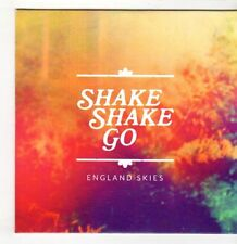 (GS687) Shake Shake Go, England Skies - 2014 DJ CD
