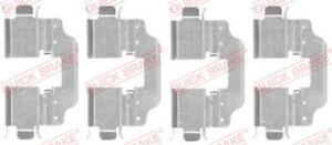 Zubehörsatz Scheibenbremsbelag QUICK BRAKE 109-1773 für MEGANE RENAULT hinten 3