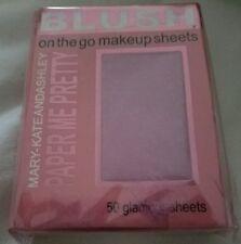 Mary-KateandAshley Paper Me Pretty Blush on the go Makeup Sheets #810 Flushed