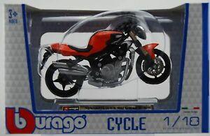 BBURAGO MV AGUSTA BRUTALE S 1:18 MOTORCYCLE DIE CAST MODEL NEW IN BOX LICENSED