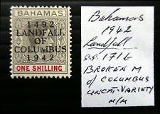 More details for bahamas 1942 landfall 1/- broken