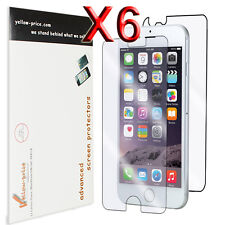 Apple iPhone 6 4.7'' Full Body High Definition Clear Screen Protector, 6 Lots