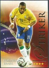 FUTERA 2010 WORLD FOOTBALL-SERIES 2- #688-BRAZIL-ROBINHO