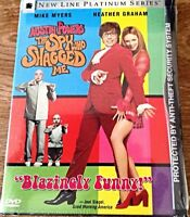 AUSTIN POWERS: THE SPY WHO SHAGGED ME DVD (WIDESCREEN) BRAND NEW, FACTORY SEALED