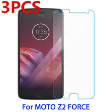 3X for Motorola Moto Z2 Force Tempered Glass Screen Protector Saver