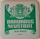 alter Bierdeckel Brauhaus NEUSTADT a. d. Aisch ( (Burkart Bräu ) 🍺 N-2