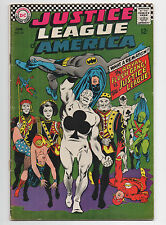 DC COMICS  JUSTICE LEAGUE OF AMERICA  54  1967  ROYAL FLUSH GANG