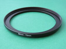 62mm-72mm Stepping Step Up Male-Female Lens Filter Ring Adapter 62mm-72mm