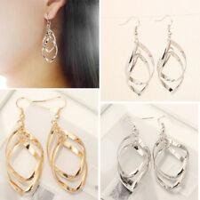 Earrings Drop Long Dangle Women Fashion Gift Hook Jewelry Lady Silver stud