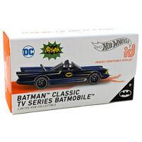 Hot Wheels 2021 ID 1:64 Blue 1966 Batman Classic TV Series Batmobile HBF93