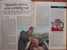 March-1986 TV Guide(ANGELA  LANSBURY/JEAN BRUCE SCOTT/MURDER SHE WROTE/CANADIAN