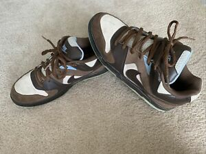 Mens Nike Low Dunk 2008 NYX Brown Baby Blue Sz 10.5 Style # 330941-221 Worn