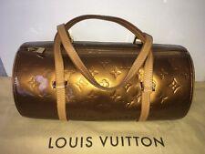 Pre-Owned Louis Vuitton Bronze/Brown Bedford Papillon Barrel Handbag Bag