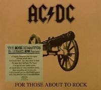 "AC/DC ""FOR THOSE ABOUT TO ROCK"" CD DIGIPACK NEUWARE"