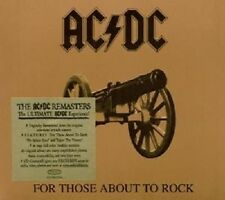 """AC/DC """"FOR THOSE ABOUT TO ROCK"""" CD DIGIPACK NEUWARE"""