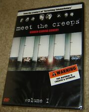 MEET THE CREEPS VOLUME 1 DVD, NEW AND SEALED, RARE HIDDEN CAMERA COMEDY,FUNNY!