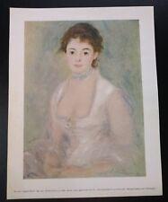 Vintage Auguste Renoir Madame Henriot Art Print
