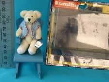 Doll house Rocking Chair By Lundby n.o 4329 with Original package and Bear