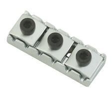 Authentic Floyd Rose 1000 Series/Special Locking Nut: Satin Chrome, R2