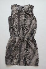 Women`s Next Dress Grey Print Size 10R