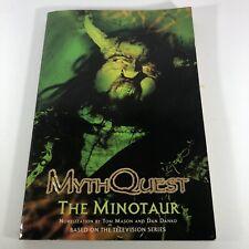 MythQuest The Minotaur Novelization By Tom Mason & Dan Danko 2002 Pb